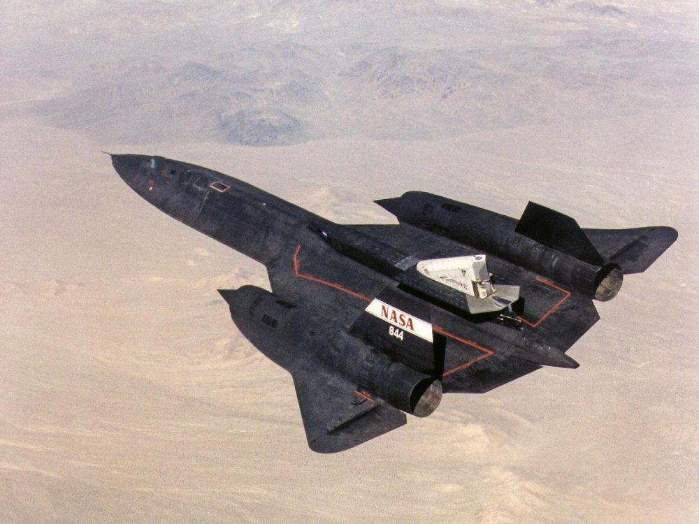 Lockheed SR-71. Стратегический разведчик. (США)
